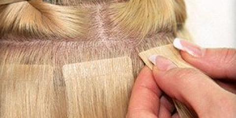 Все про нарощування волосся на трессах