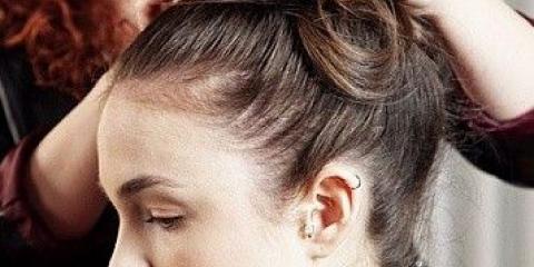 Висока зачіска: як зробити?