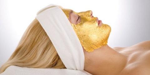 Золоті маски для підтримання шкіри в належному стані